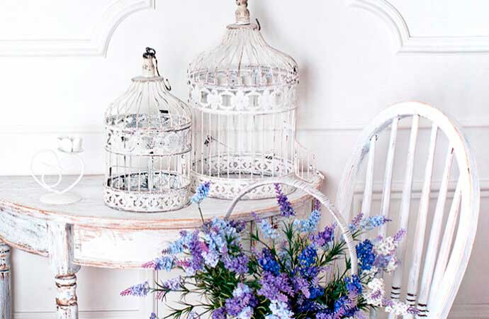 Shabby chic: decoración para romántic@s