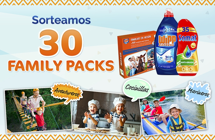¡Consigue un Family Pack con WiPP y Somat!